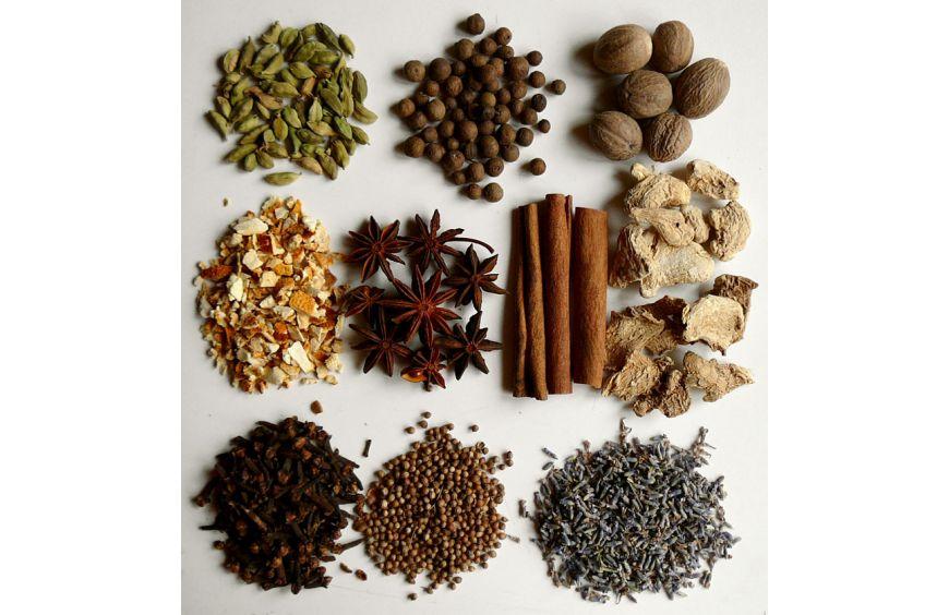 Корпоративные подарочные наборы специй для глинтвейна, чая, кофе