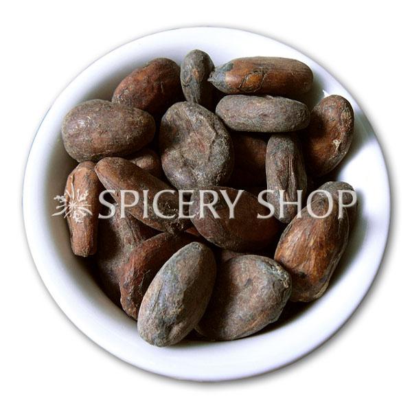 Какао бобы сырые