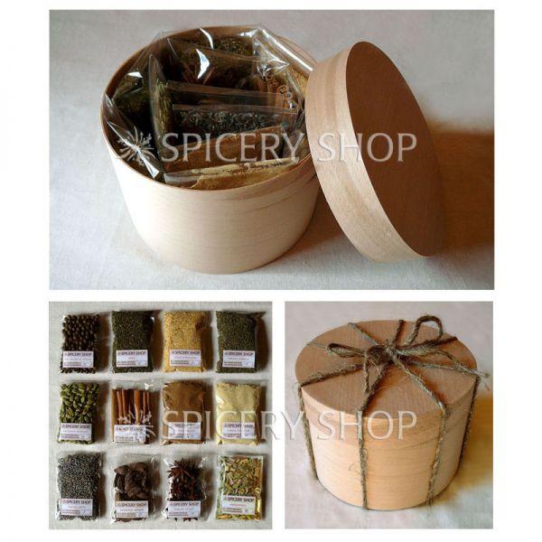 Подарочный набор пряностей для чая | Чаемания