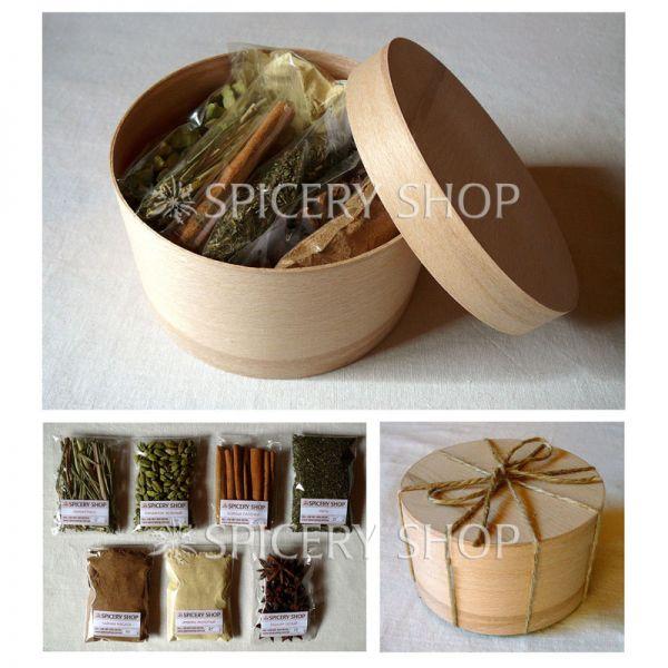 Подарочный набор специй для чая | Чаемания мини