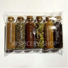 """Подарочный набор карманный """"6 специй для какао и горячего шоколада"""""""