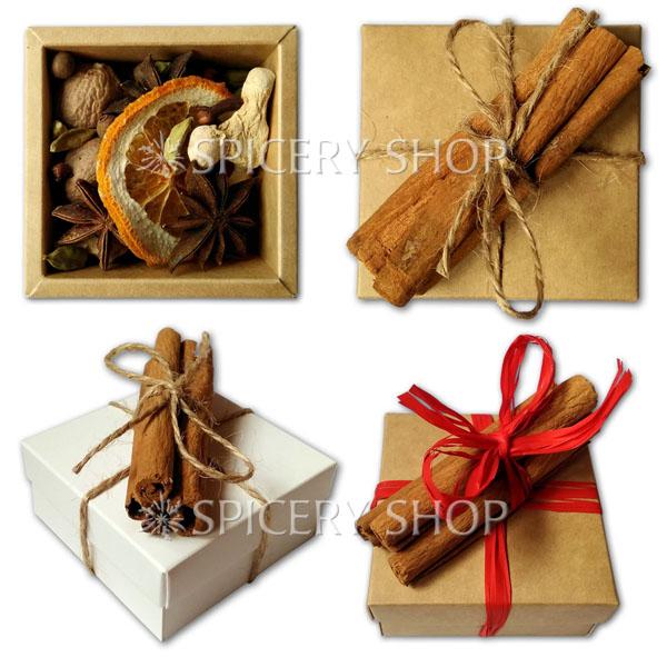 Подарочный набор специй | Россыпь пряностей для глинтвейна мини