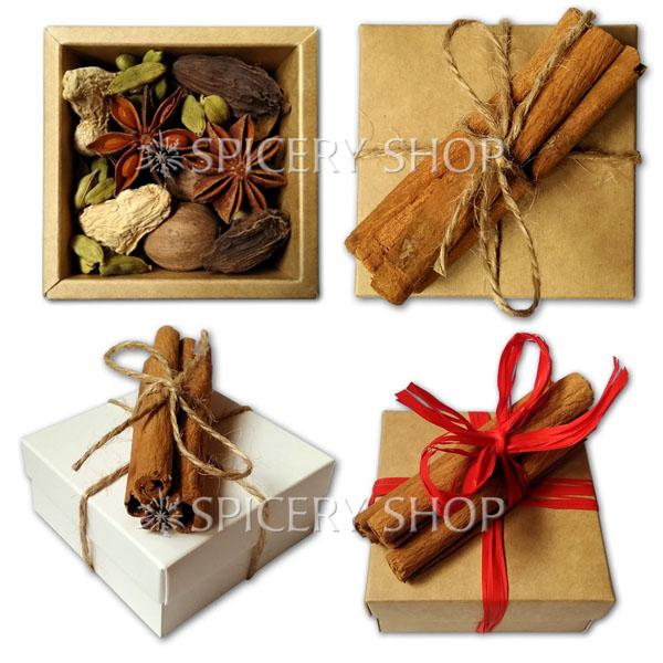 Подарочный набор специй   Россыпь пряностей для кофе мини