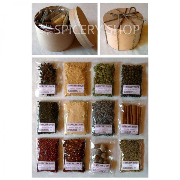 Подарочный набор пряностей для кофе | Кофеман