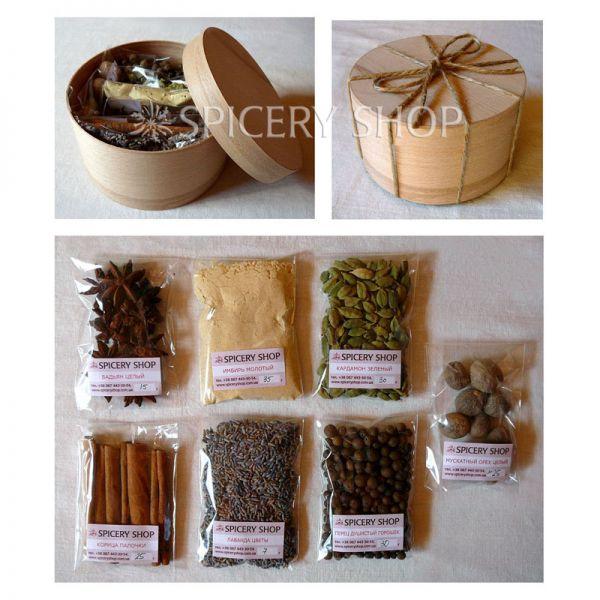 Подарочный набор специй для кофе | Кофеман мини