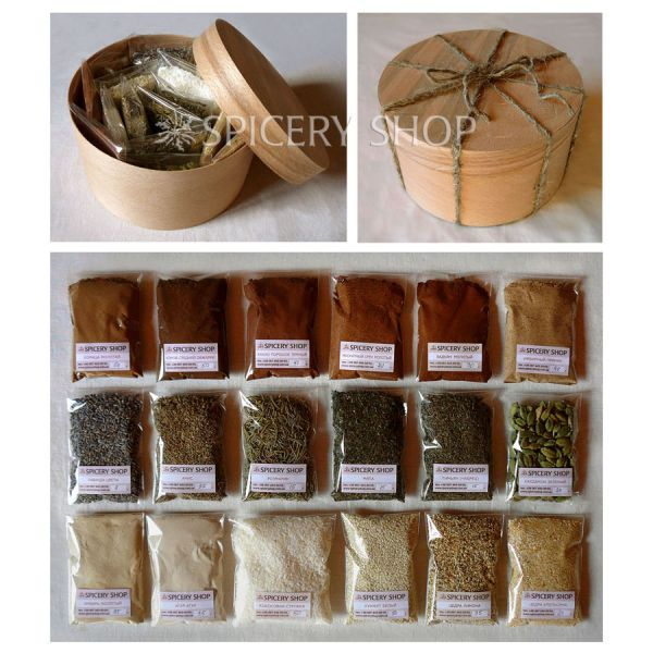 Подарочный набор специй для выпечки и сладостей | Кондитер