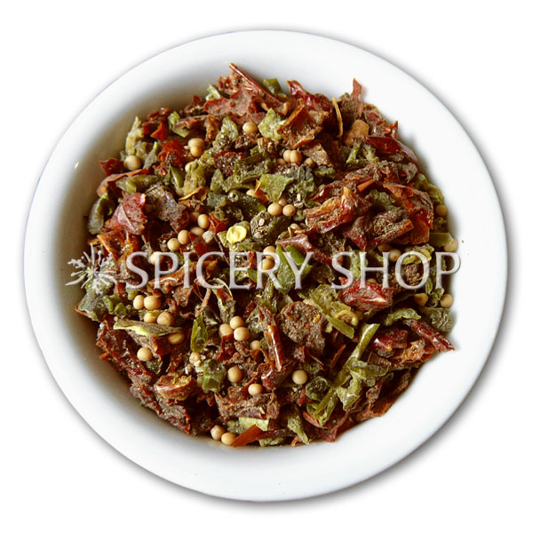 Декоративно вкусовая обсыпка для мяса Багряная