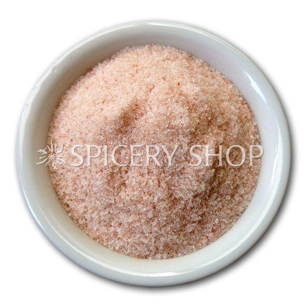 Гималайская розовая соль   средний помол