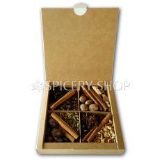 Подарунковий набір спецій і прянощів для гарячих алкогольних напоїв