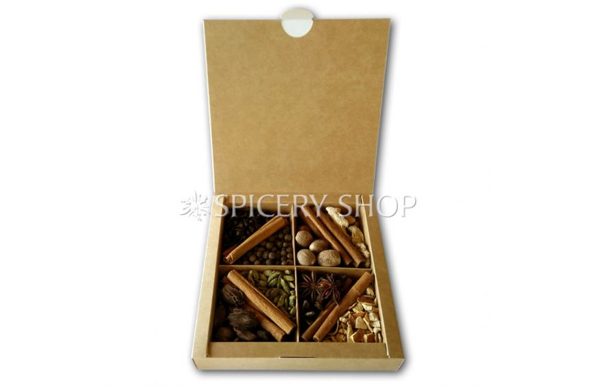Подарочный набор специй и пряностей для горячих алкогольных напитков, чая, кофе