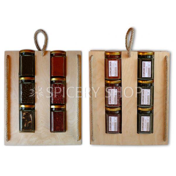 Эксклюзивный подарочный набор специй — Красное и черное