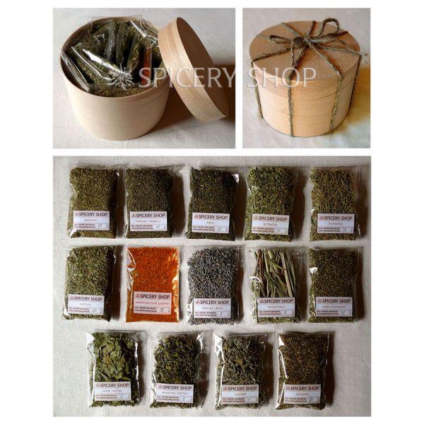 Подарочный набор пряных трав | Разнотравье
