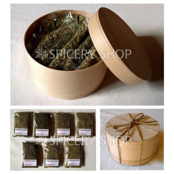 Подарочный набор пряных трав | Разнотравье мини