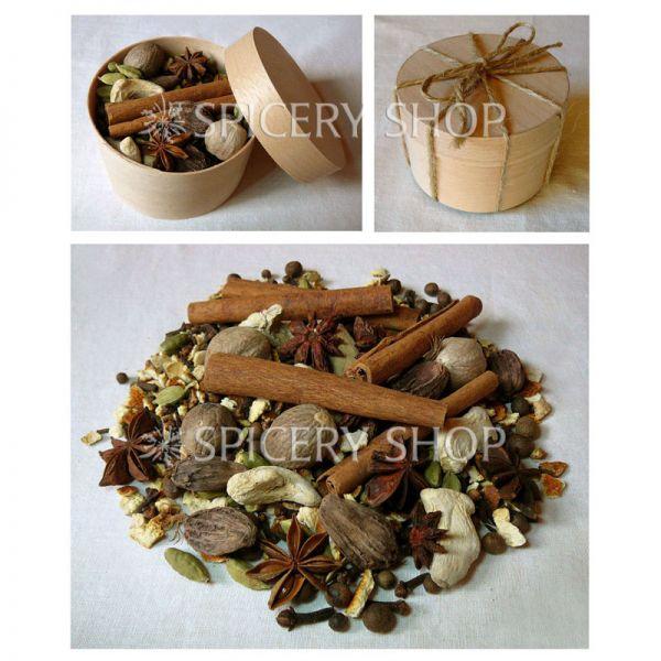 Подарочный набор специй | Россыпь пряностей для глинтвейна