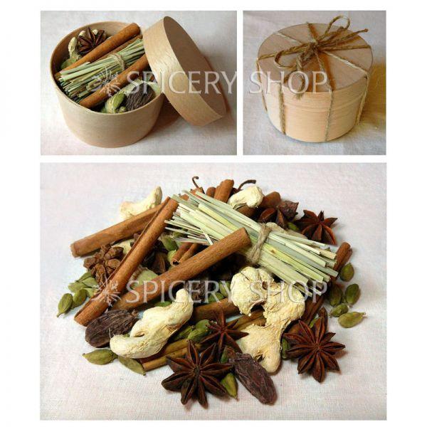 Подарочный набор специй | Россыпь пряностей для чая