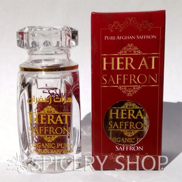 Настоящий натуральный афганский шафран в бутылочке